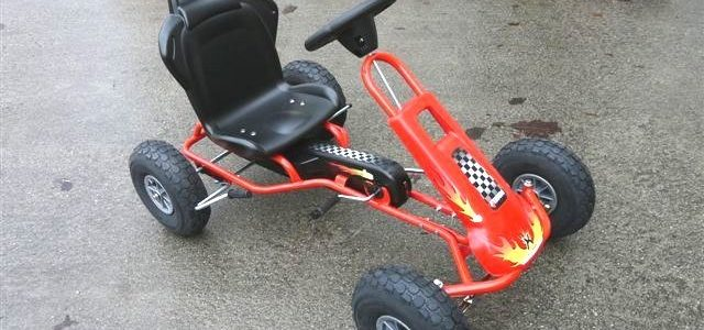 kart a pedale rouge